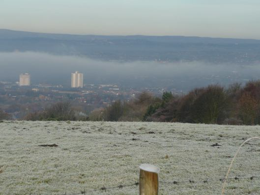 The view from Werneth Low.