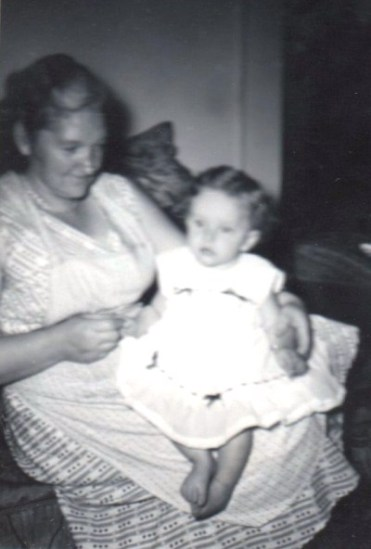 A new dress for Jo – from the family photo collection.